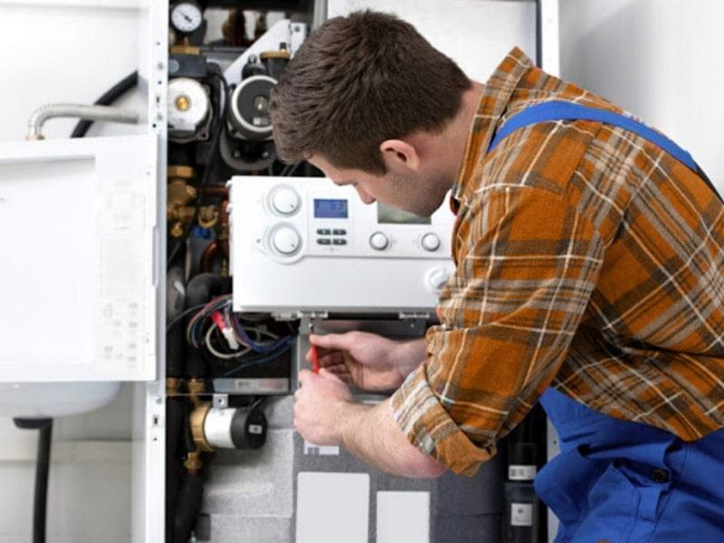 Repair Repair A failed water heaterA failed water heater