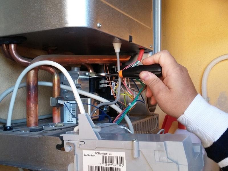 Repair A failed water heater